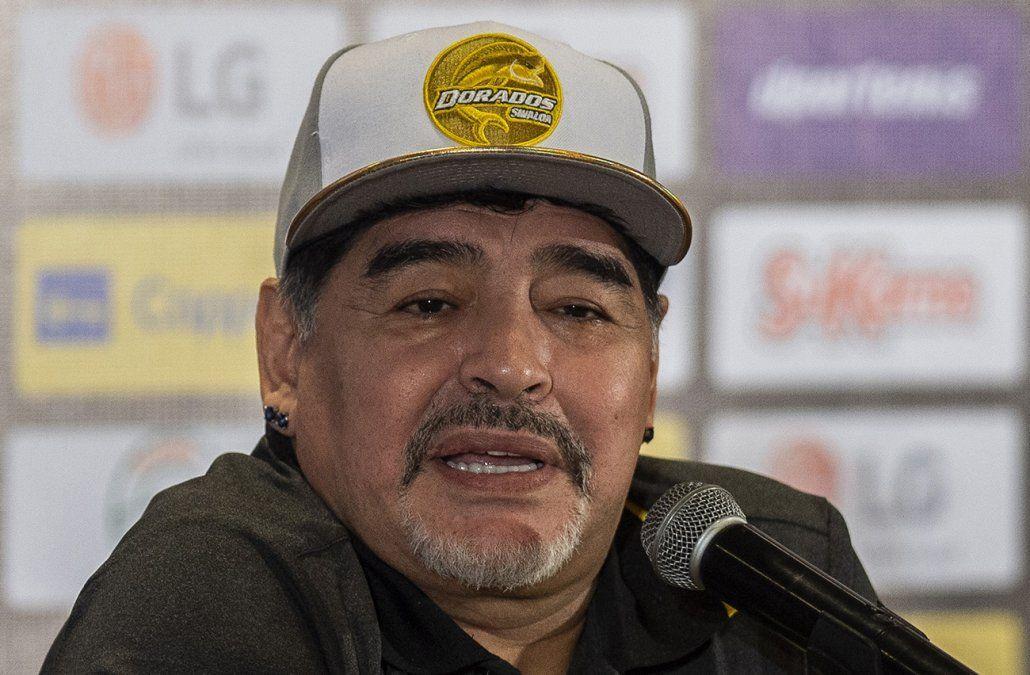 Maradona restó importancia a su internación: Fui a hacerme resonancias, no pasó nada