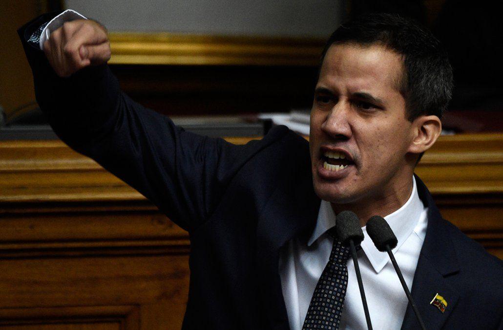 Juan Guaidó nuevo presidente de la Asamblea Nacional de Venezuela.