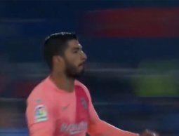 altText(Luis Suárez hizo su primer gol del año ante el Getafe)}