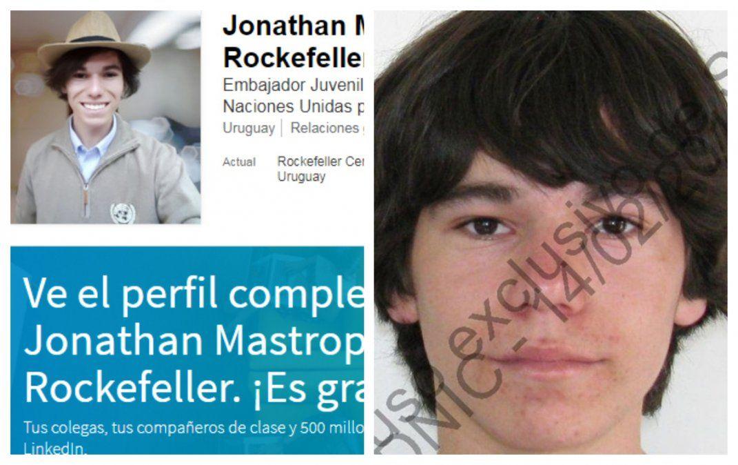 Jonathan Gabriel Mastropierro Olivera ya tenía entradas como estafador