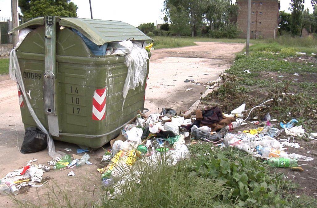 Intendencia prevé completar el vaciado de contenedores de basura este miércoles