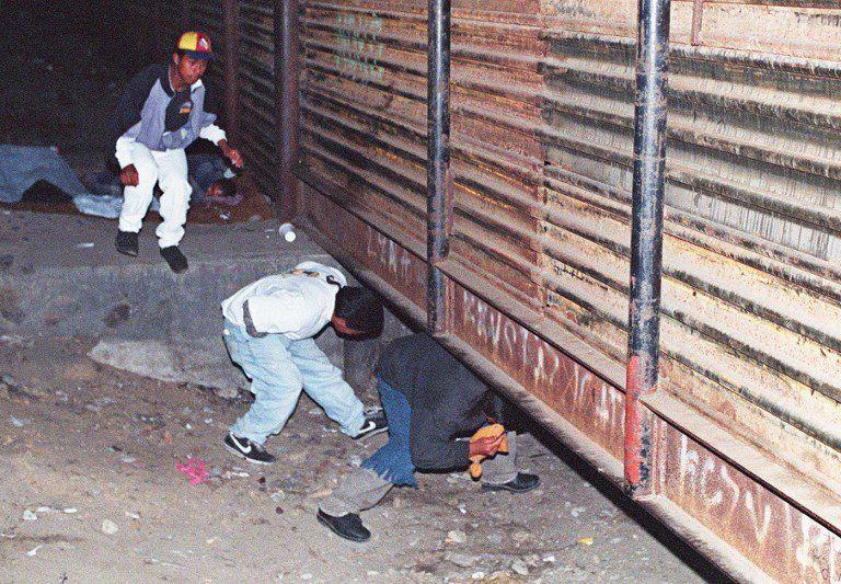 En 1994 ya existía muro y el problema inmigrante.