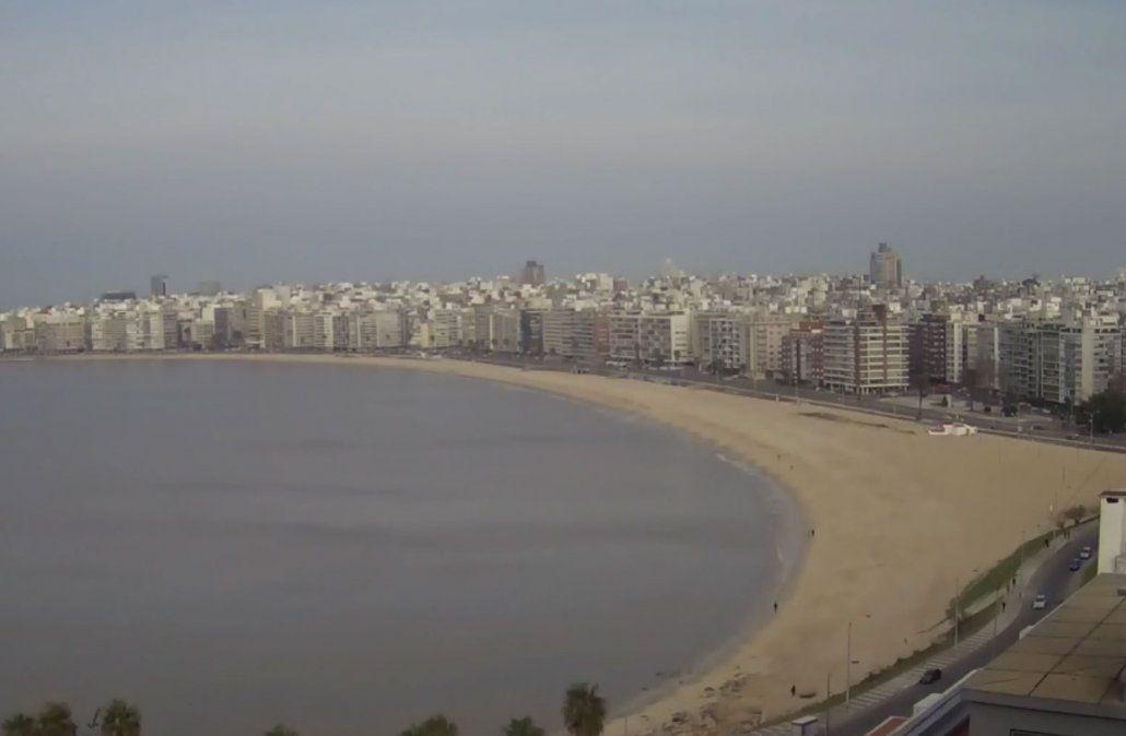 Mujer denuncia haber sido violada en la playa de Pocitos por un desconocido