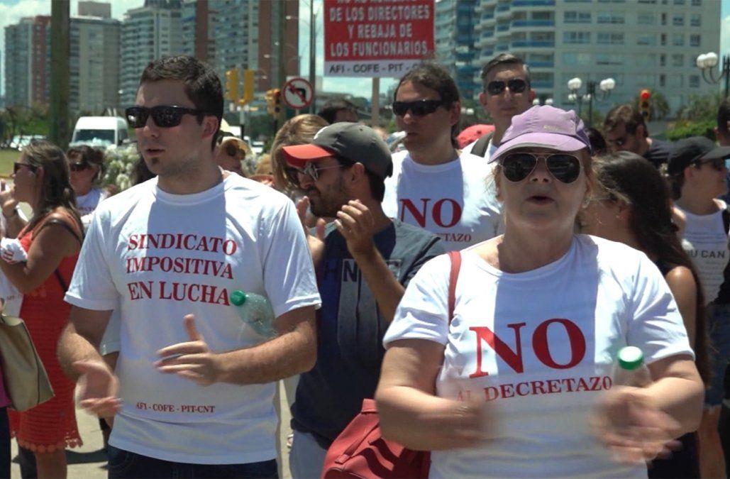 Sindicato se movilizó en Punta del Este y DGI suspendió las inspecciones en la costa