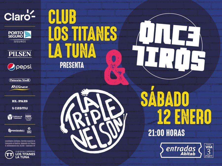 Club Los Titanes La Tuna presenta cartelera de espectáculos para enero