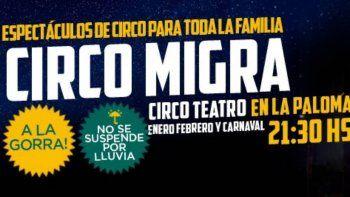 Proyecto Migra llena de circo el verano de La Paloma