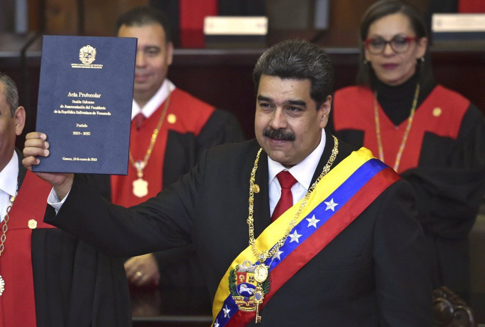 Maduro inició su segundo gobierno en Venezuela pese al fuerte rechazo internacional