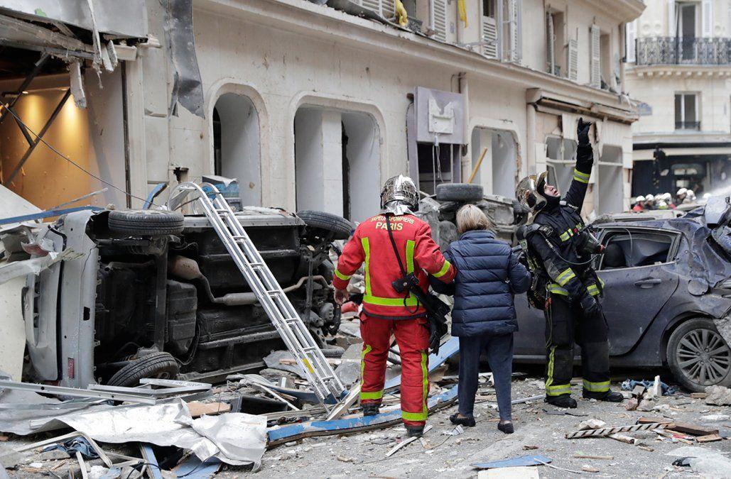 Al menos cuatro muertos y varios heridos por fuerte explosión en panadería en París