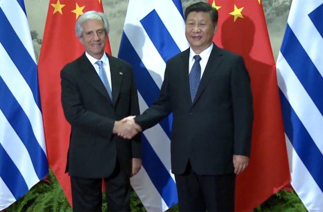 Xi Jinping saludó a Vázquez y destacó la importancia de las relaciones entre China y Uruguay