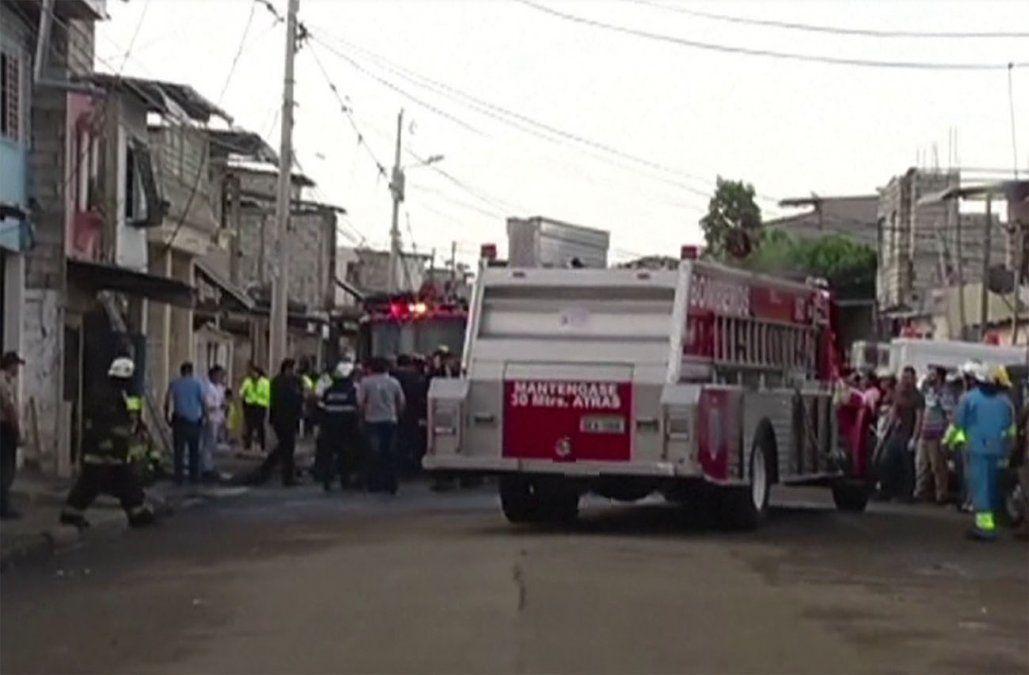 Incendio deja 18 muertos en clínica de adicciones en Ecuador