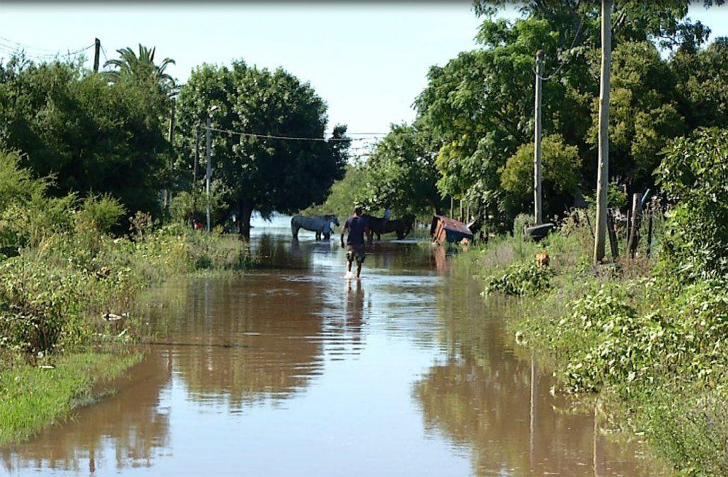 Durazno: 1307 personas evacuadas; 150 reciben alimentación del Comité de emergencias