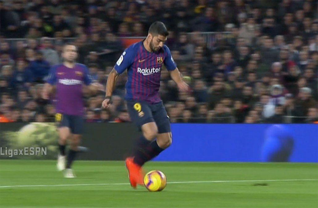 Suárez, Cavani y Stuani marcaron este fin de semana en Europa