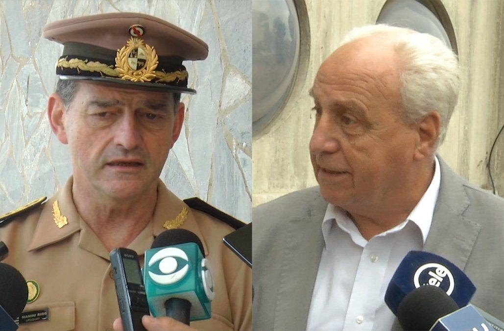 Ministro Rossi defendió al jefe del Ejército: Si pasa Bolsonaro, yo también lo saludo