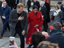 El primer hijo del príncipe Harry y Meghan Markle nacerá a fines de abril o mayo