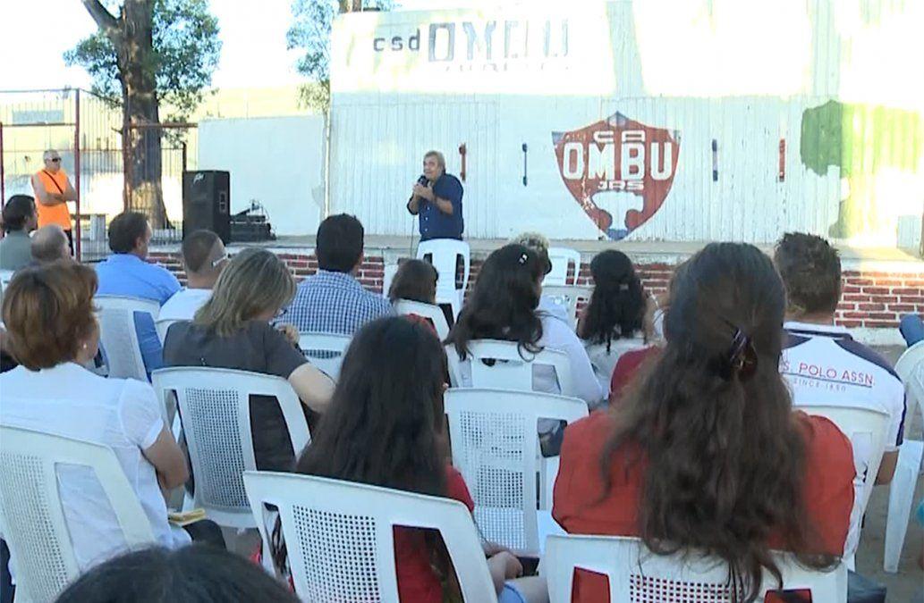 Larrañaga convocó a rescatar la educación pública y preparar a los jóvenes para el futuro
