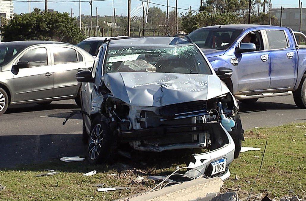 Cantidad de lesionados en accidentes se redujo 27% en los últimos seis años