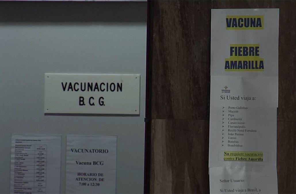 MSP recomienda vacuna contra la fiebre amarilla para quienes viajen a Brasil