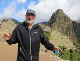 Robert de Niro estuvo en Sudamérica y visitó Machu Picchu en Perú