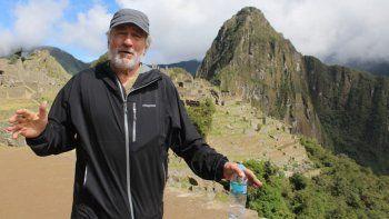 Robert de Niro está en Sudamérica y visitó Machu Picchu en Perú