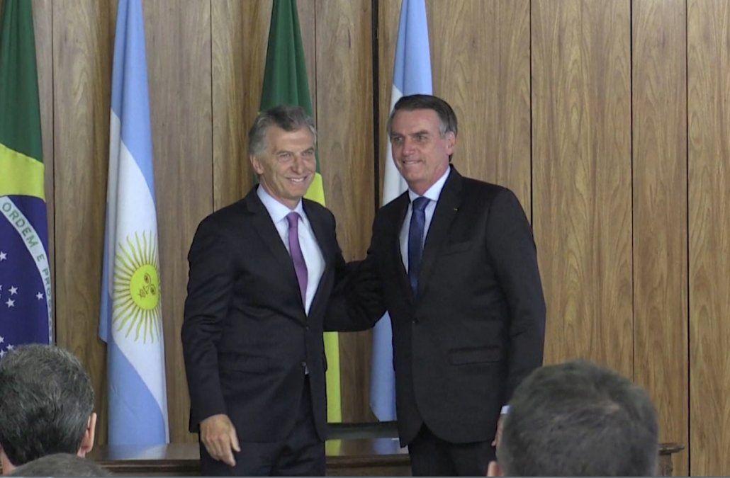 Bolsonaro y Macri acuerdan modernizar el Mercosur y acusan a Maduro de dictador