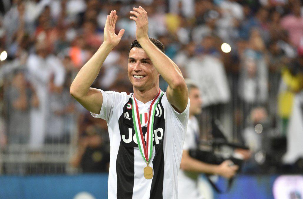 Cristiano Ronaldo le dio a la Juventus la Supercopa italiana