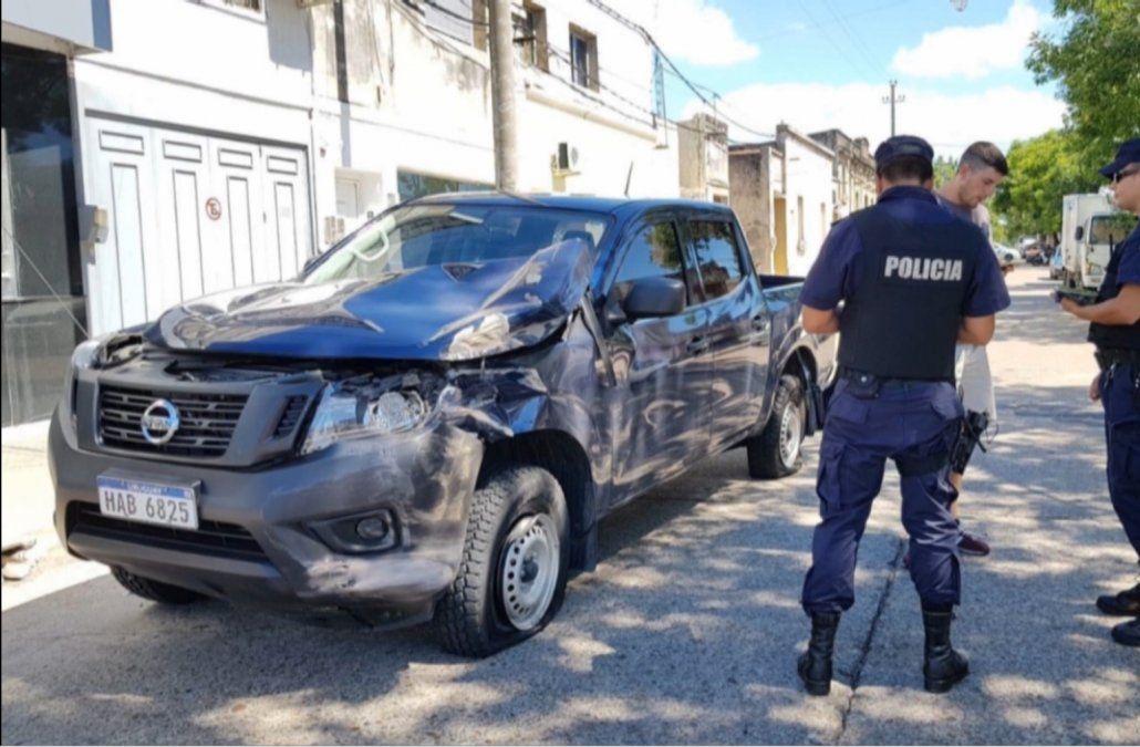 Persecución y tiroteo entre delincuentes y su víctima en pleno centro de Paysandú