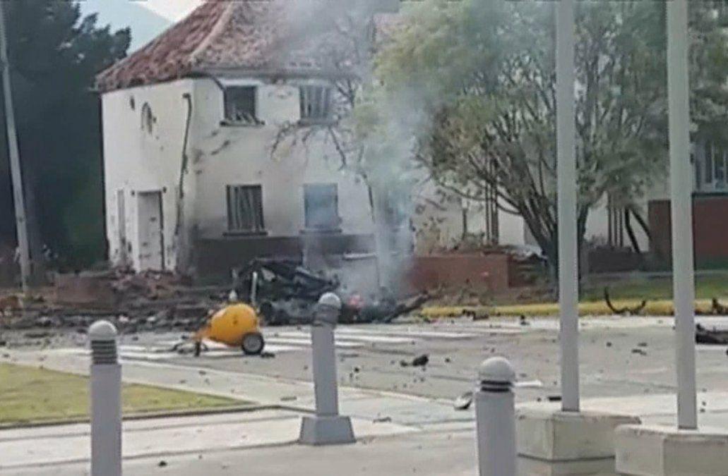 Diez muertos y más de 60 heridos por coche bomba en academia policial de Bogotá
