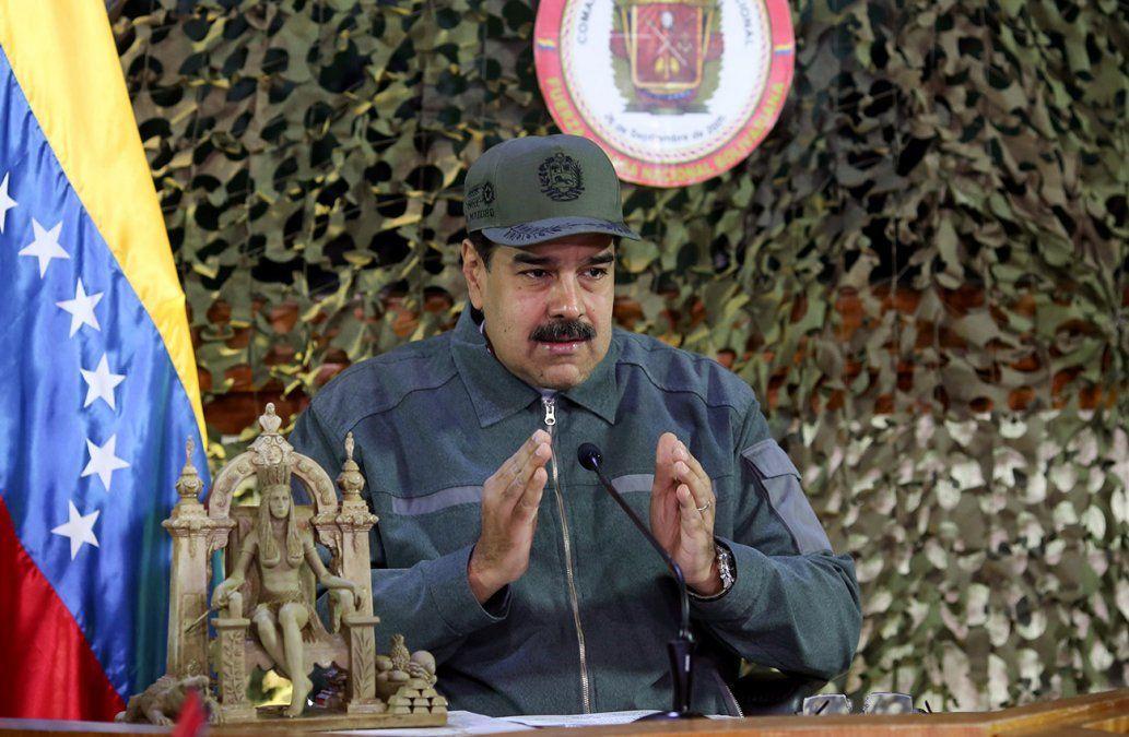 Maduro aseguró que viajó al futuro, volvió y vio que en Venezuela va a estar todo bien