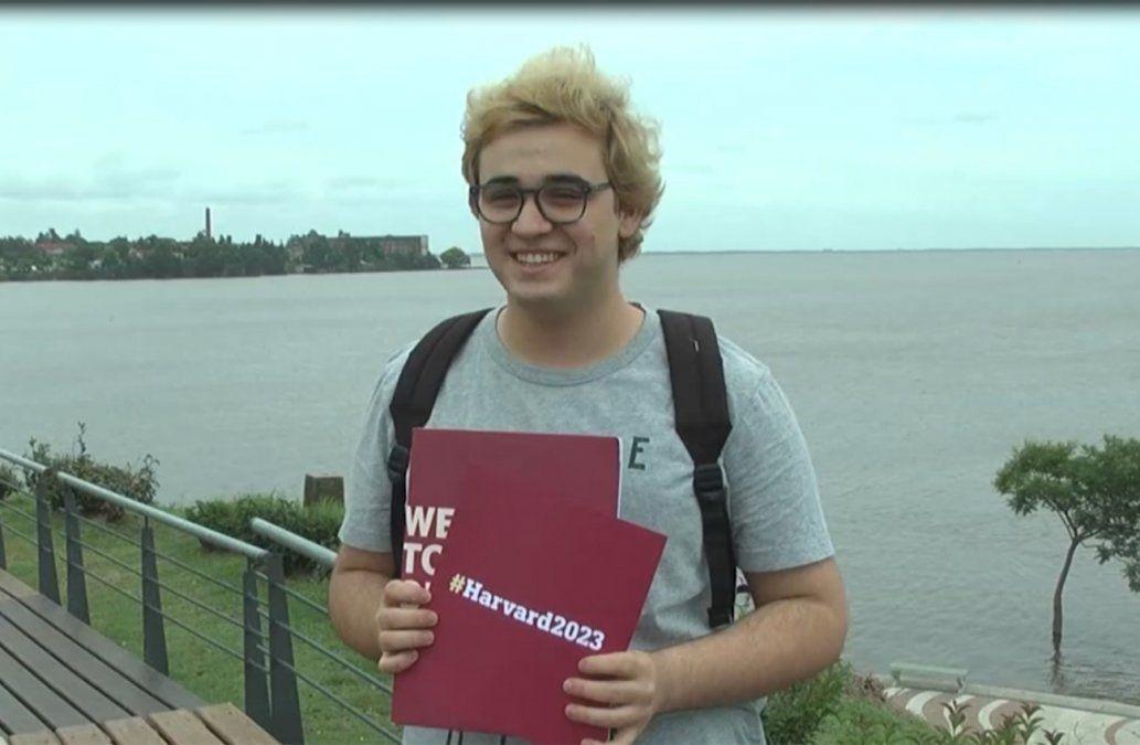 Desde Fray Bentos a Harvard: el joven que estudiará en la prestigiosa universidad