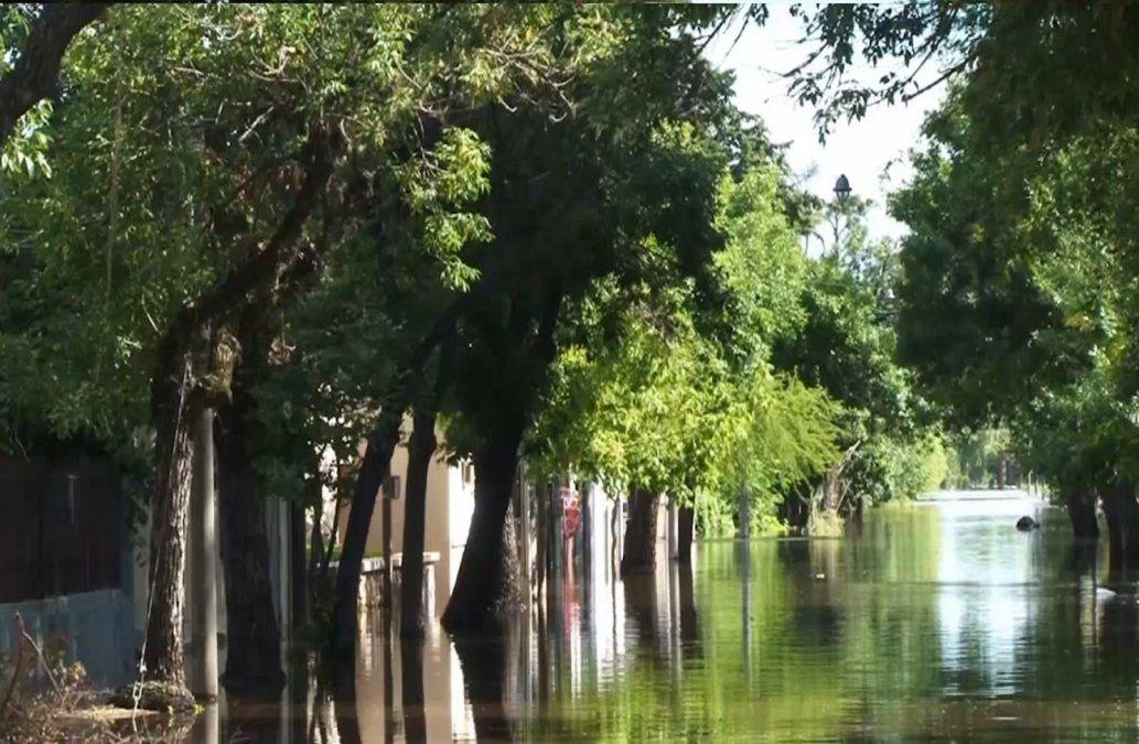 Aumentó la cantidad de evacuados en Salto y Paysandú