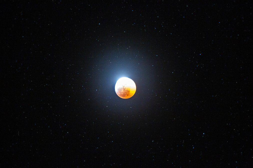 El eclipse total de luna desde Barstow