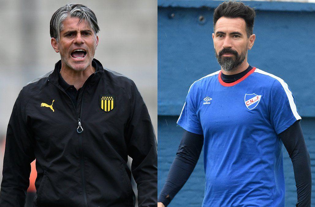 Peñarol le ganó 2-0 a Nacional el primer clásico del año con goles de Canobbio y el toro Fernández