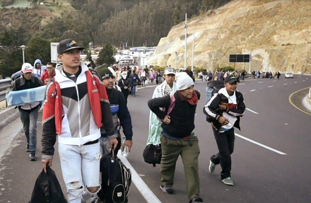 Un feminicidio perpetrado en Ecuador por un venezolano generó brotes de xenofobia