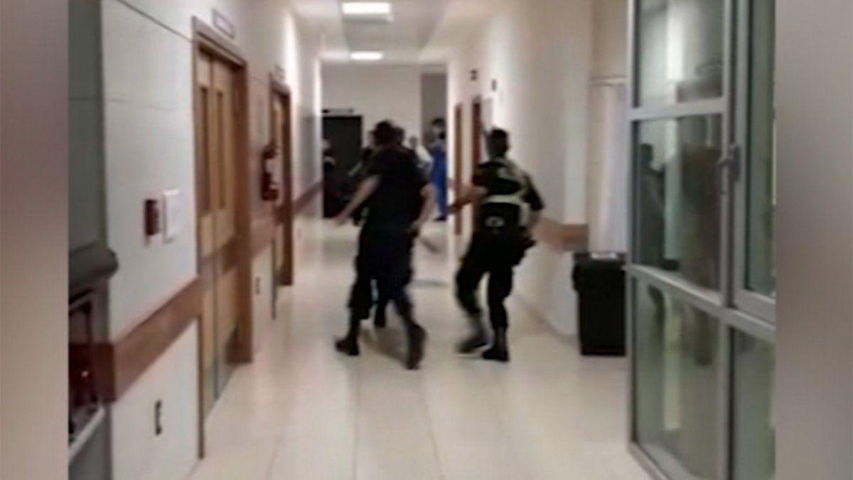 A la cárcel dos hombres por los destrozos que provocaron en el hospital Pasteur