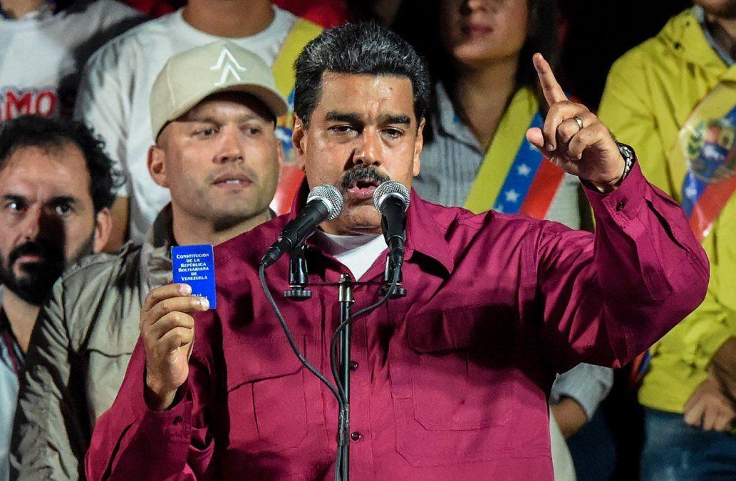 Maduro rompió relaciones con EEUU después que Trump reconoció a Guaidó como presidente