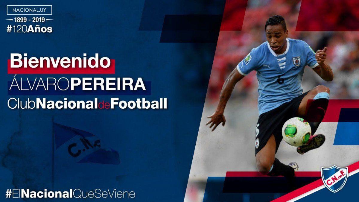 Nacional presentó tres nuevas incorporaciones para reforzar el equipo