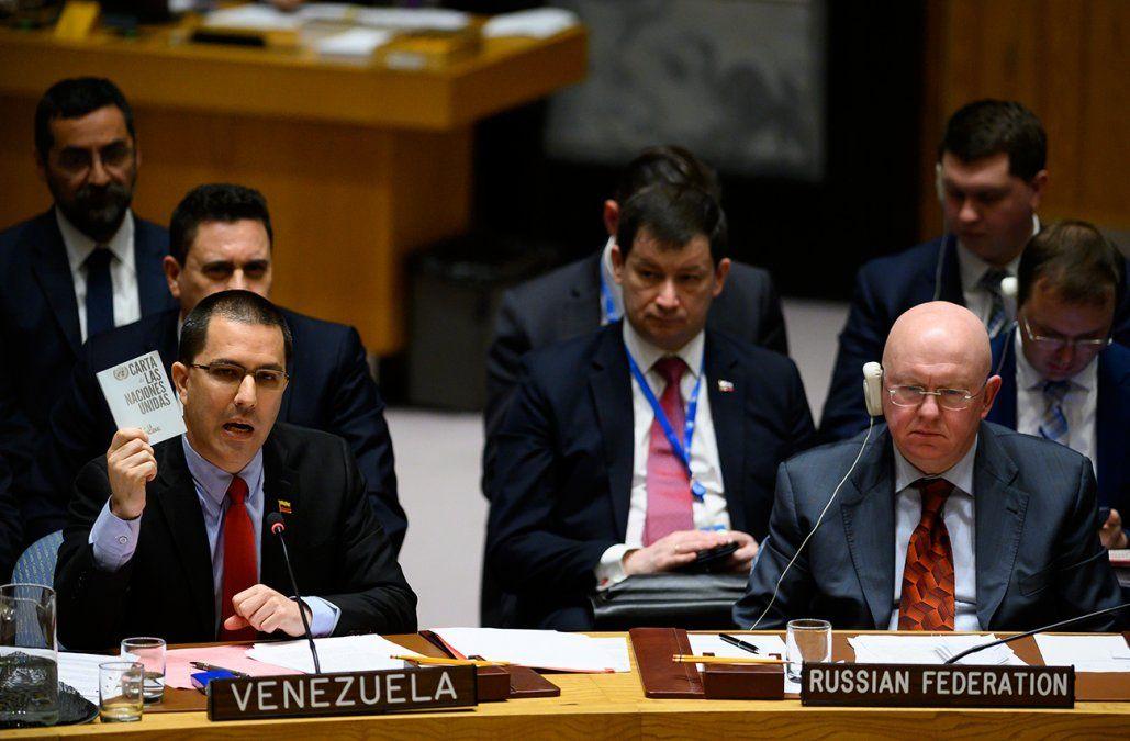 Estados Unidos y Rusia se enfrentaron en la ONU por la continuidad de Maduro