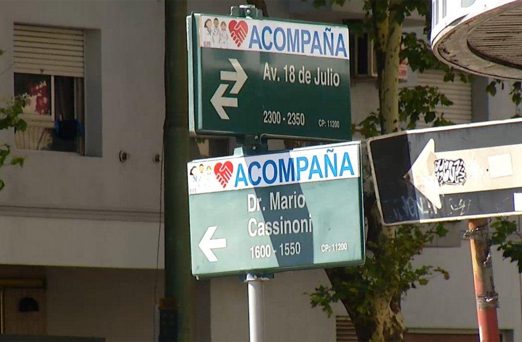 Un delincuente amenazó a un bebé y rapiñó a su madre en el Centro de Montevideo