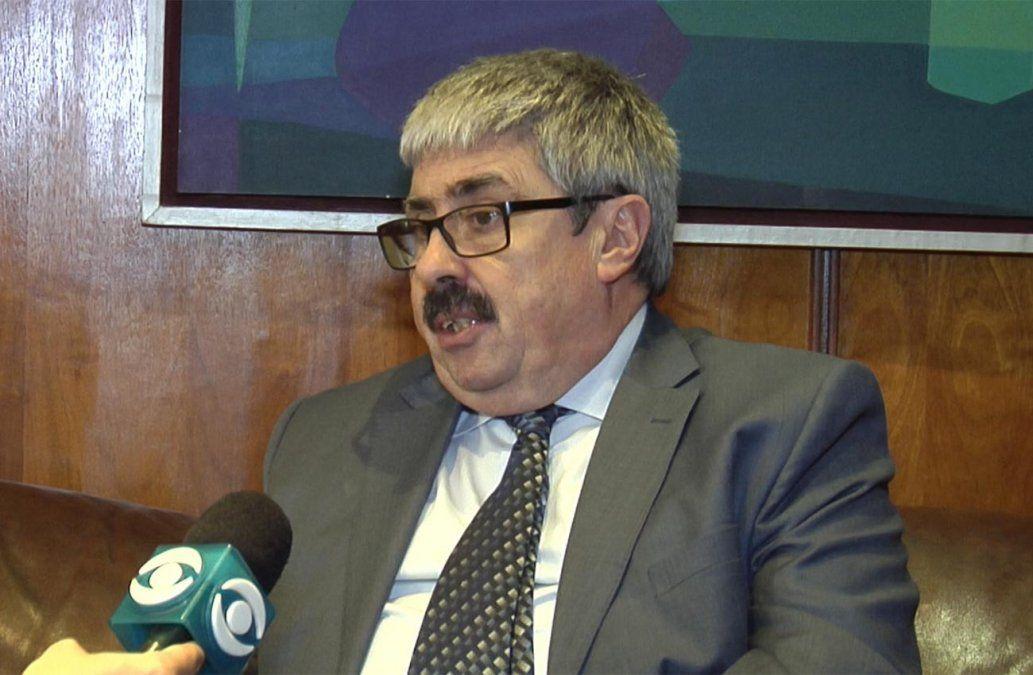 Foto: vicecanciller Ariel Bergamino en nota con Subrayado.