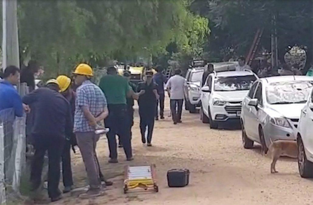 Operativo en barrio Talca recuperó viviendas de jubilados que fueron usurpadas