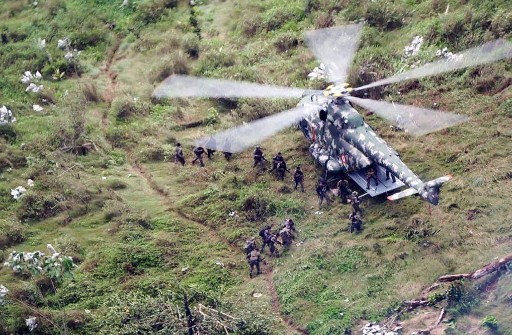 Así destruyen laboratorios clandestinos de droga en la frontera Perú - Colombia
