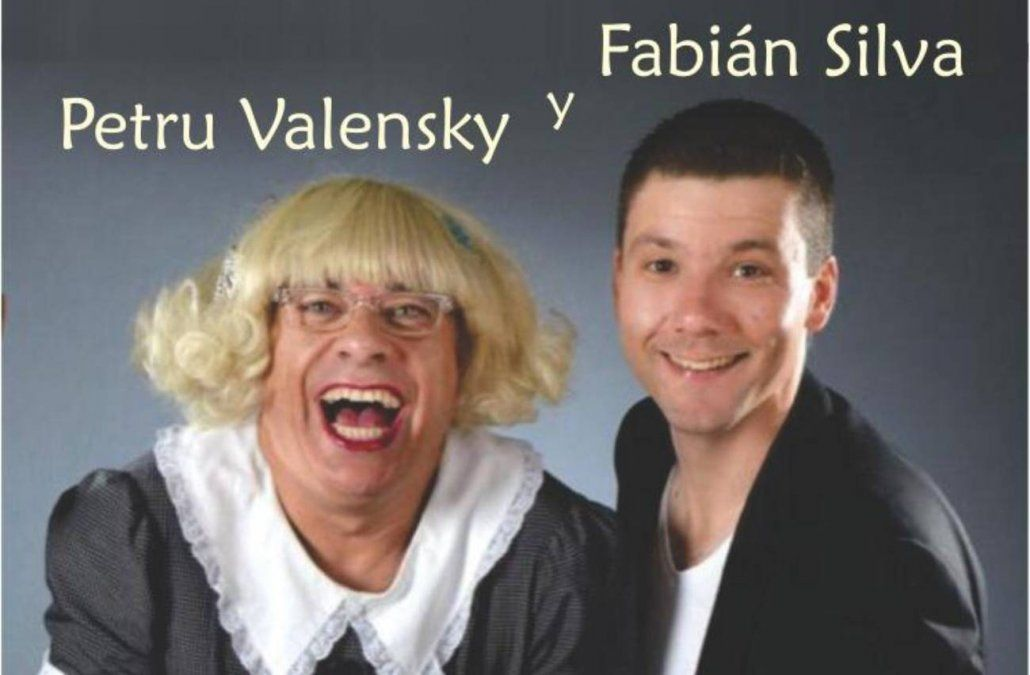 Petru Valensky y Fabián Silva en Cafe Concert