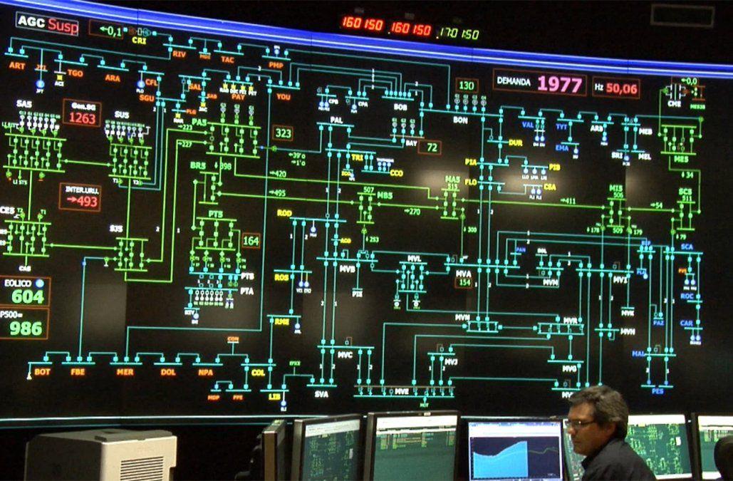 Se registró este martes el consumo de energía eléctrica más alto de la historia