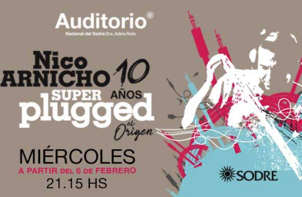 Nico Arnicho celebra 10 años de Superplugged El Origen