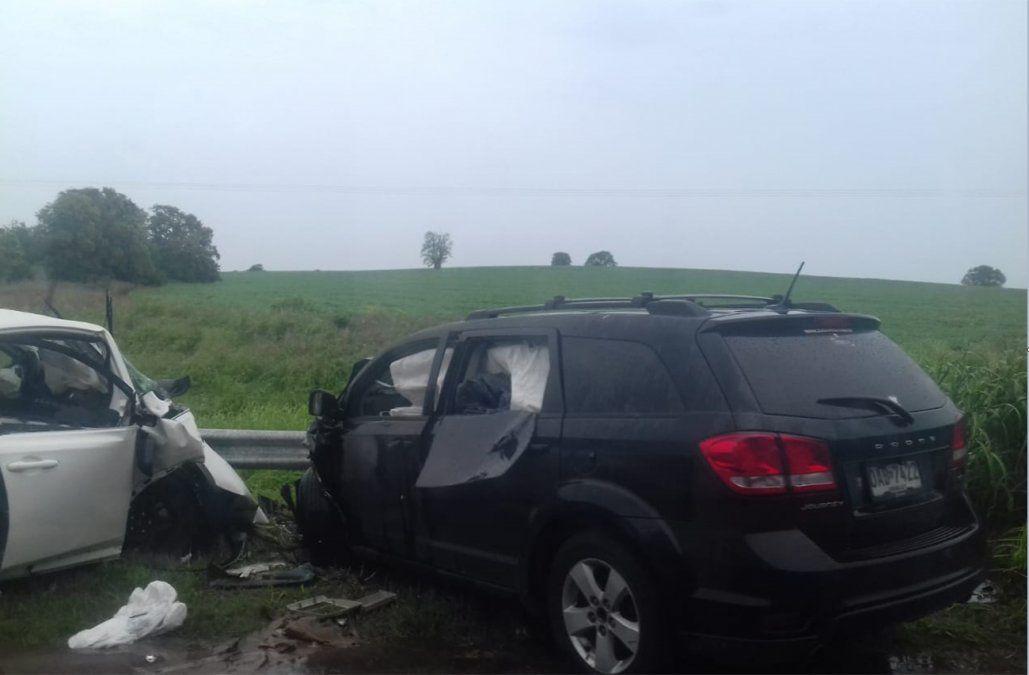 Leandro García Morales sufrió un grave accidente en Argentina donde murió una persona