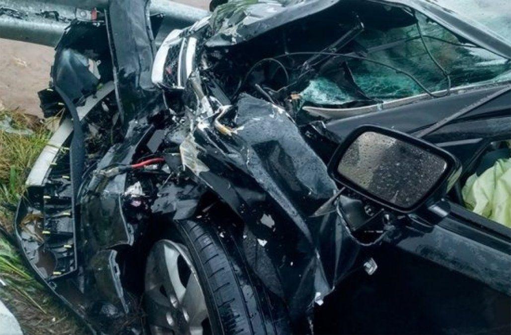 Me rompí, dijo García Morales tras el grave accidente en Argentina