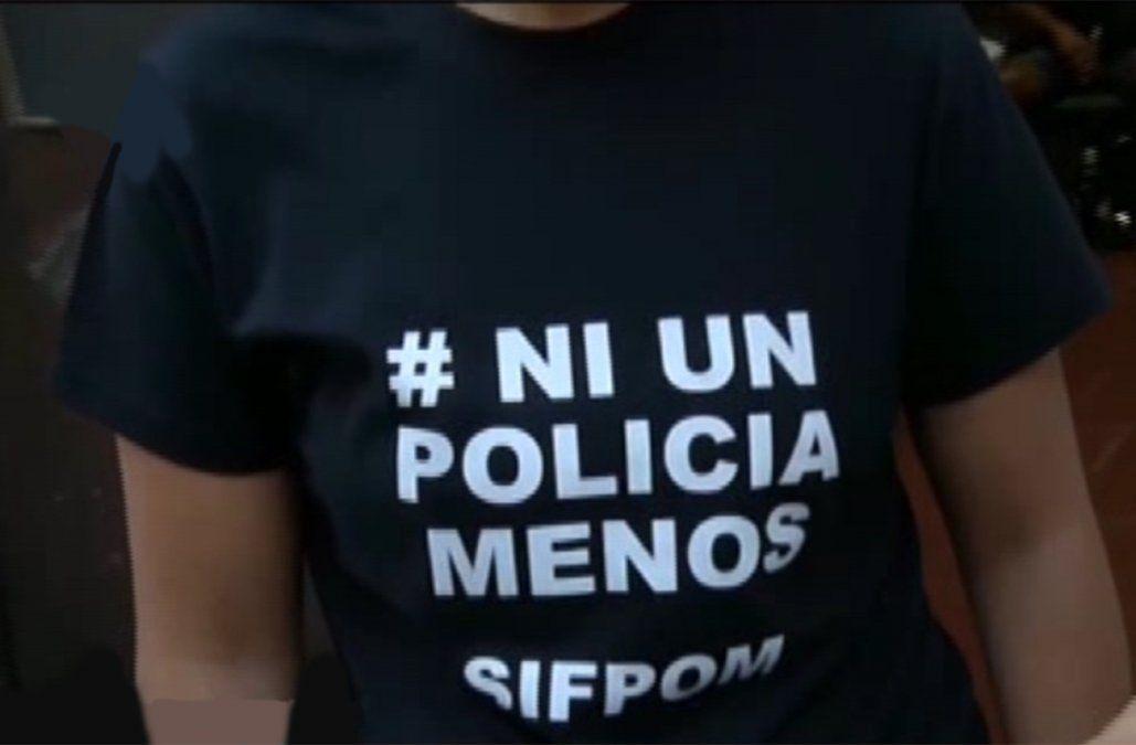 Policías se movilizan la semana que viene para exigir seguridad y protección legal