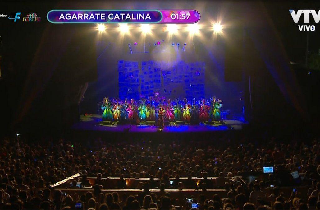 Tras siete años ausente volvió Agarrate Catalina al carnaval
