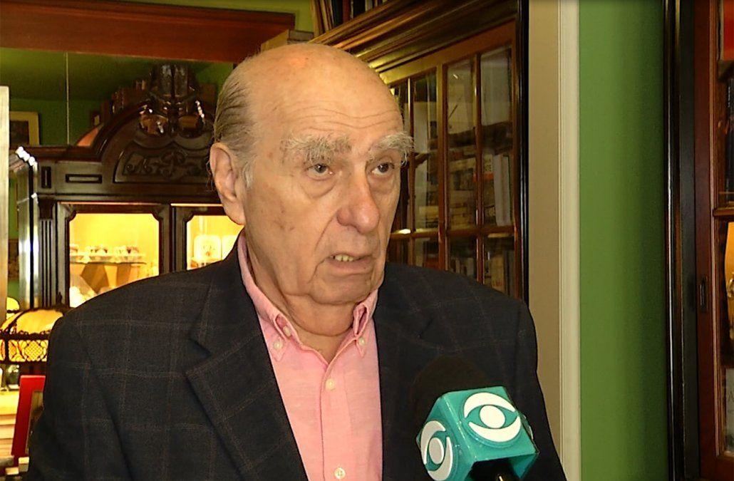 Para Sanguinetti la posición neutral que tomó uruguay: no tiene sentido