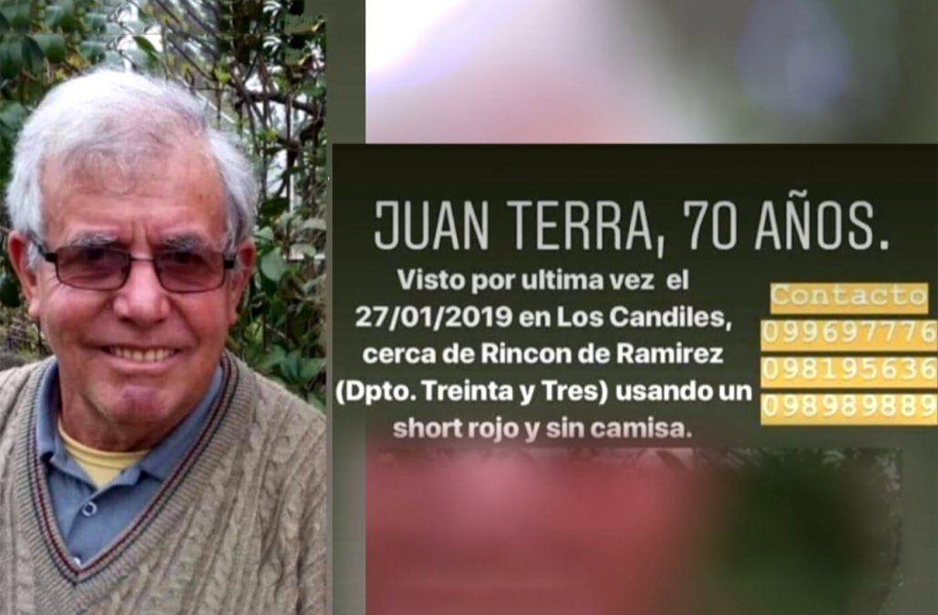 Un hombre se perdió en un campo y más de 200 personas lo buscan por aire y por tierra